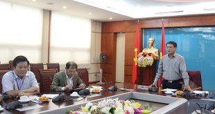 Thứ Trưởng phát biểu tại buổi họp chuẩn bị phát sóng truyền hình mặt đất tại 8 tỉnh 31/12/2017