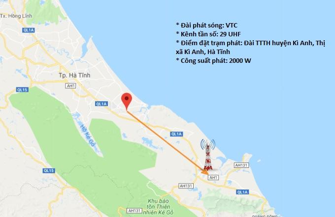 Cột Phát Sóng Truyền Hình DVB T2 Tại Phía Nam Hà Tĩnh