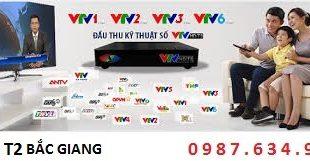 Lắp đầu DVB T2 tại Bắc Giang