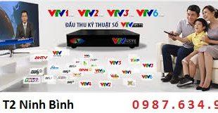 Lắp đầu DVB T2 tại Ninh Bình