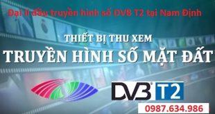 Lắp đầu thu DVB T2 tại Nam Định