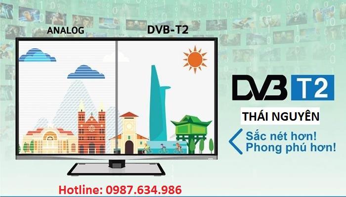 Lắp truyền hình số DVB T2 Thái Nguyên
