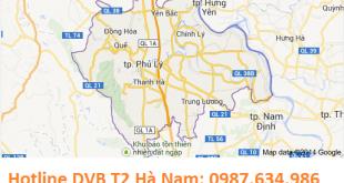 Lắp truyền hình số mặt đất DVB T2 tại Hà Nam