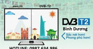 Lắp đầu DVB T2 Bình Dương