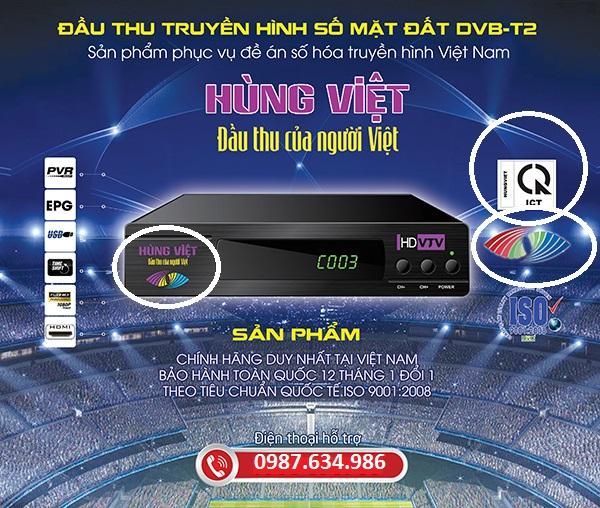 Truyền hình DVB T2 Hậu Giang