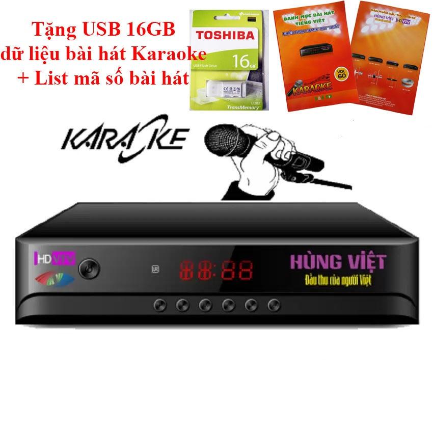 Đầu thu Hùng Việt 789s Karaoke