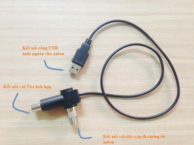 Dây cấp nguồn anten khuếch đại DVB T2