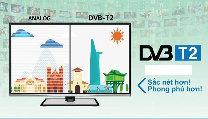 DVB T2 phong phú hơn, sắc nét hơn
