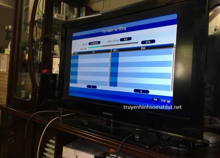 Giao Diện Đầu Thu DVB T2 Wifi