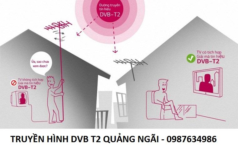 Truyền hình DVB T2 Quảng Ngãi