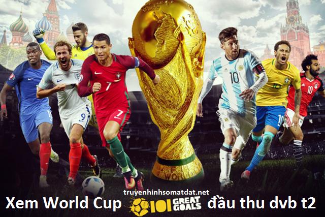 Xem World Cup Trên Đầu Thu DVB T2