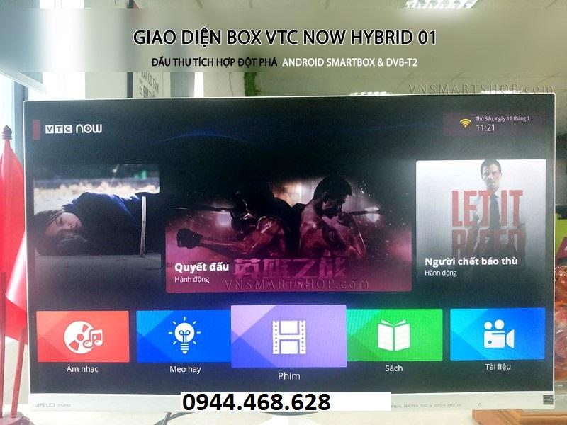 Kho ứng dụng box VTC Now