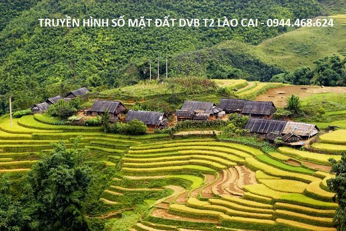 Truyền hình số mặt đất DVB T2 tại Lào Cai