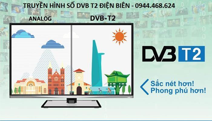 Lợi ích của truyền hình số DVB T2 Điện Biên