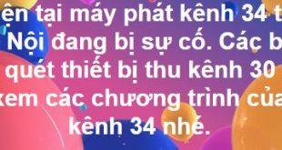 Sự cố mất kênh truyền hình số DVB T2 tại Hà Nội